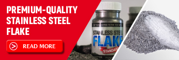 Stainless Steel Flakes with good corrosion resistance - Ametek Eighty Four.