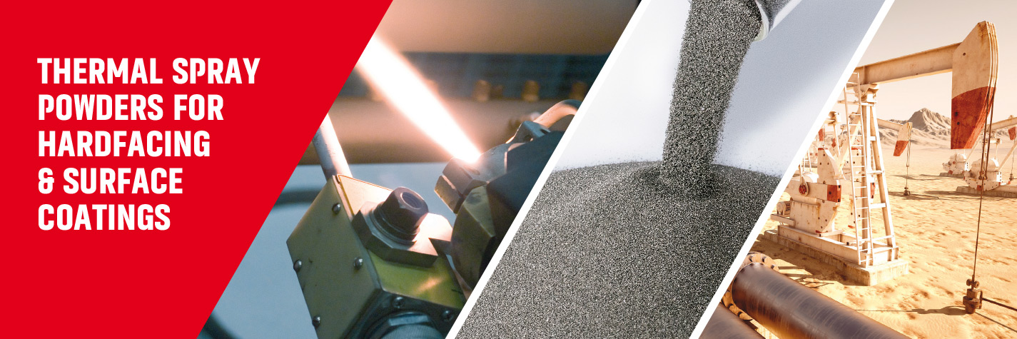 Thermal spray powders for high performance hardfacing surface coating applications – Ametek Eighty Four.