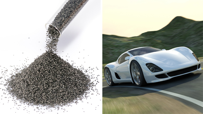Stainless steel alloy powders for automotive applications