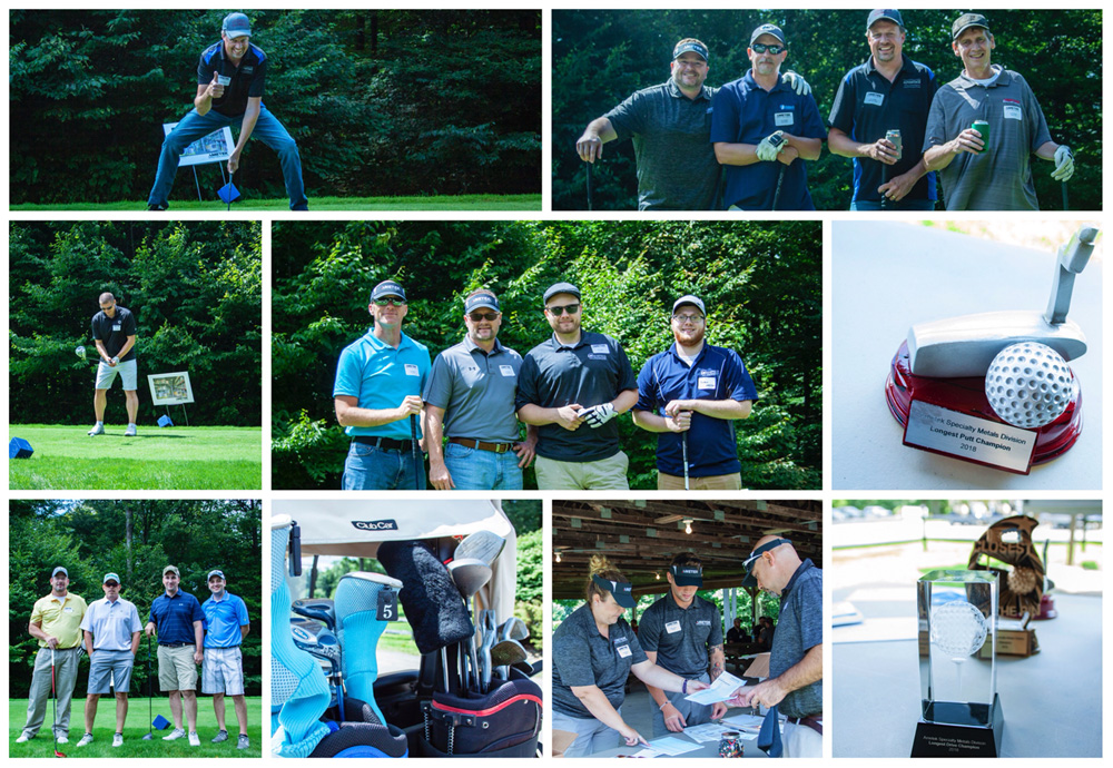 AMETEK SMP Eighty Four holds golf tournament for powder customers in West Pennsylvania